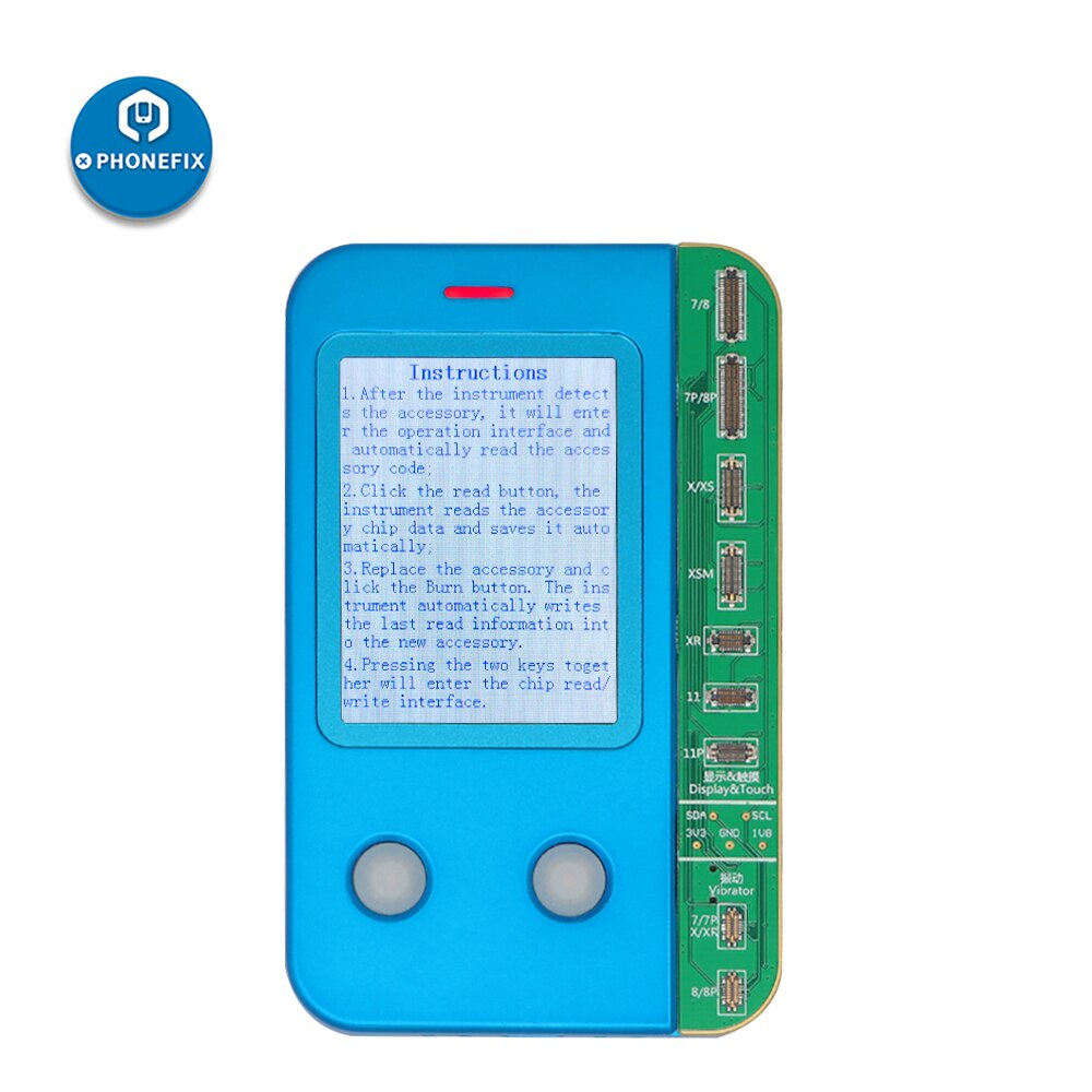 JC Pro1000S V1 para iPhone 7 7P 8P X XR XS MAX 11 Pro MAX fotosensible Color Original Shock banda Base lógica Chip programador