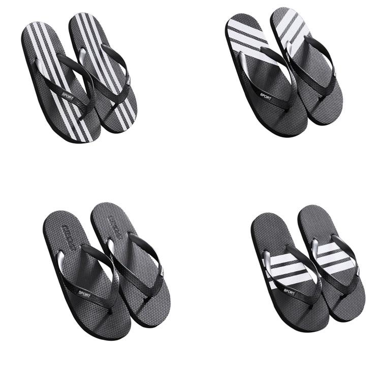 femal sandália plana sole masculino flip-flops