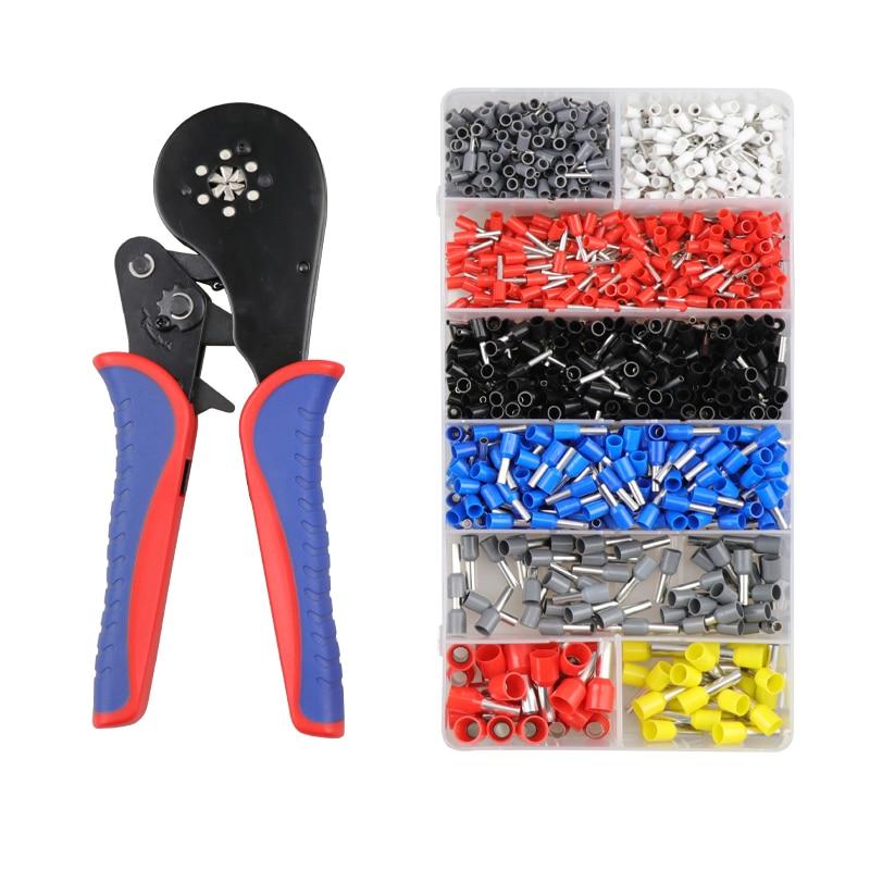Ferramentas de friso alicates ye 16-6 0.08-16mm2 caixa de terminais tubulares elétricos mini braçadeira ferramenta de ajuste automático ferramentas de friso