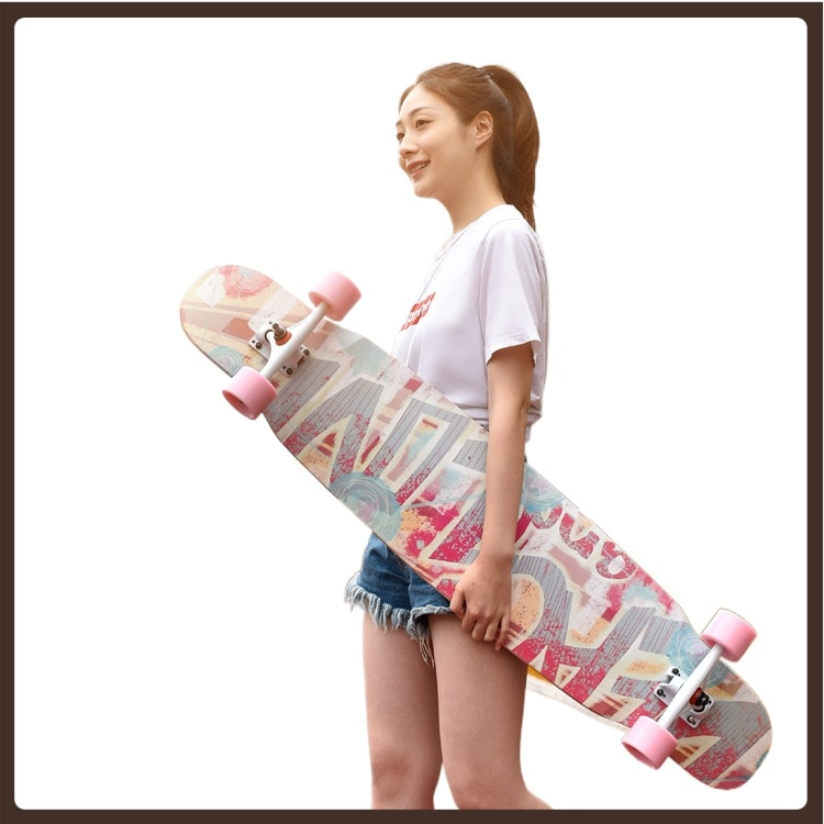 Street Long Board Surf Skateboard Deck Fashion Kids Surf Land Skateboard Teenagers Action Planche De Skate Fitness Equipment