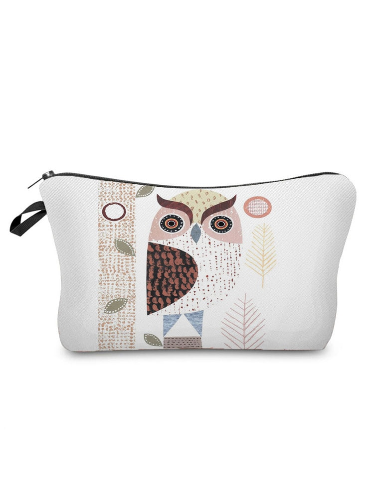 Lovely Printed Owl Cosmetics Organizer Bag Hot Sale Women's Makeup Bag Fashion Storage Bags for Wome