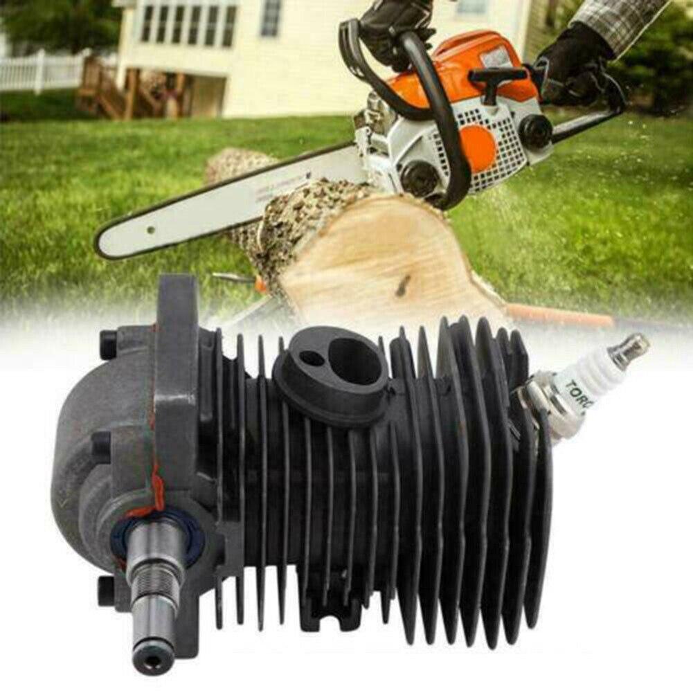 Поршень цилиндра 9 шт./компл. для Stihl MS170 MS180, уплотнитель для отстойника масла двигателя, Свеча зажигания, поршень цилиндра, Наборы инструмент...