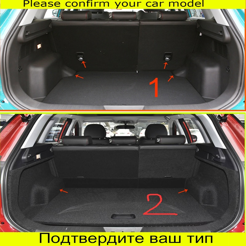 For Chery Tiggo 7 Pro 2021 Custom Trunk Mats Leather Durable Cargo Liner Boot Carpets Rear Interior Decoration Accessories Cover enlarge