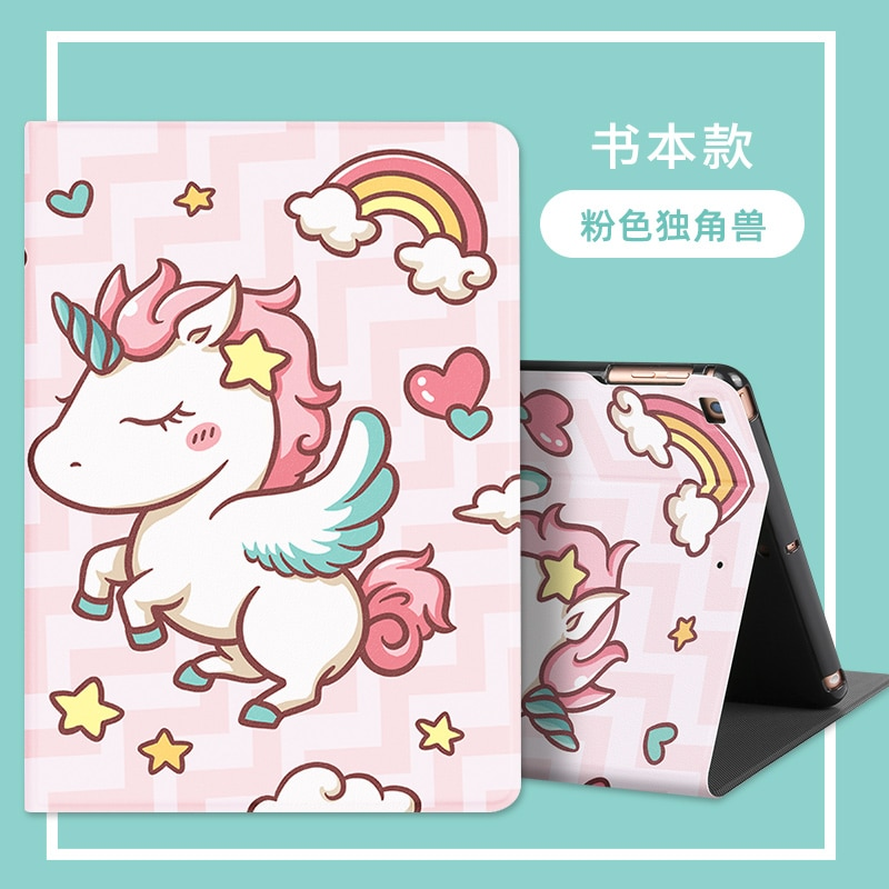 Cute Case For Huawei MatePad T8 Case PU Leather Flip Tablet Cover For Huawei T8 Kobe2-L09 Kobe2-L03 8