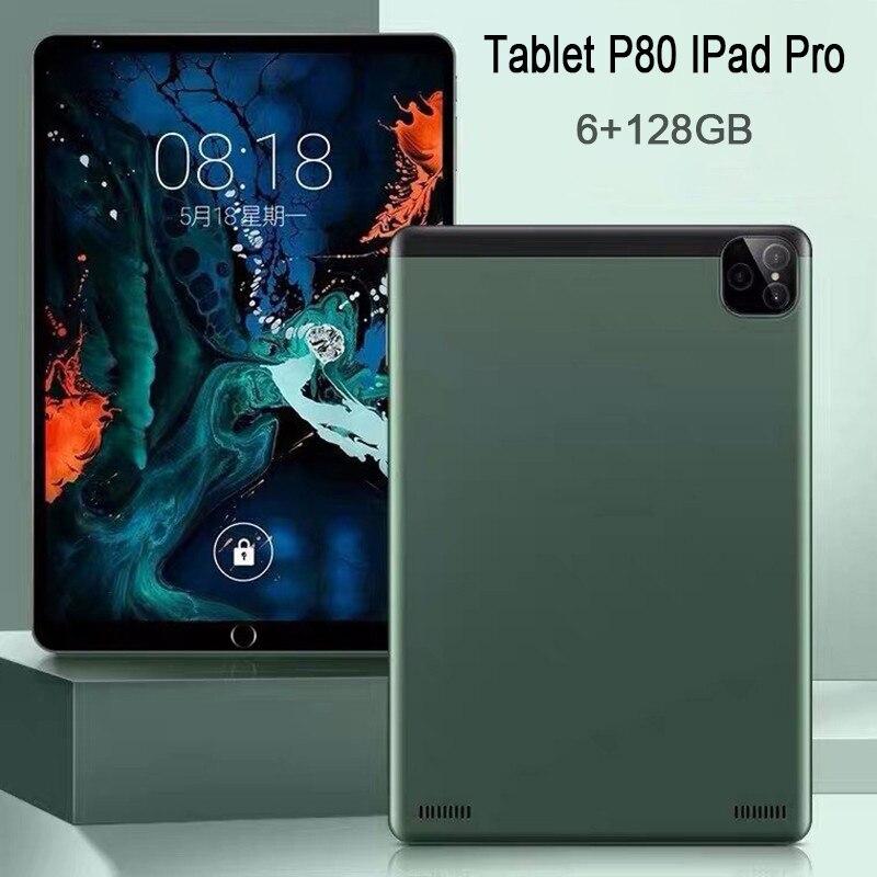 Планшет с двумя SIM-картами, 6 ГБ + 128 Гб, Android планшеты, 8 дюймов, 10-ядерный планшет, онлайн-класс, телефонные звонки, две камеры, планшет, планшет ...