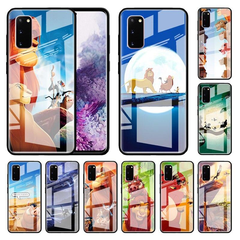 Funda de vidrio de prueba para Samsung Galaxy S10 S20 Ultra 5G S9 Plus S8 Note 8 9 10 Lite casco de teléfono templado Cas