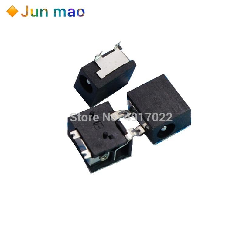 10 unids/lote DC-033 3,5*1,3*4,0*1,7mm 1,3mm 4smd DC hembra de potencia de salida interfaz hembra Jack DC033 SMD 4 pines de 3,5x1,3x4,0x1,7mm
