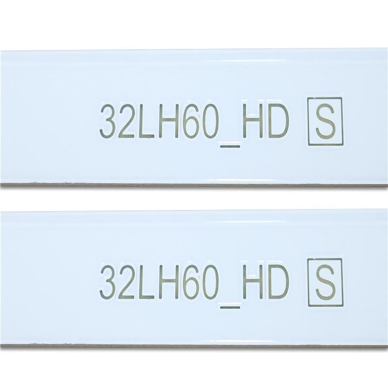New Kit 10 PCS 6LEDs 615mm LED backlight strip for LG 32inch TV 32LH60_HD SSC_32inch_HD enlarge
