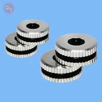 1 pair heli canopy alloy grommet for 450 500600700 for rc airplane color silver