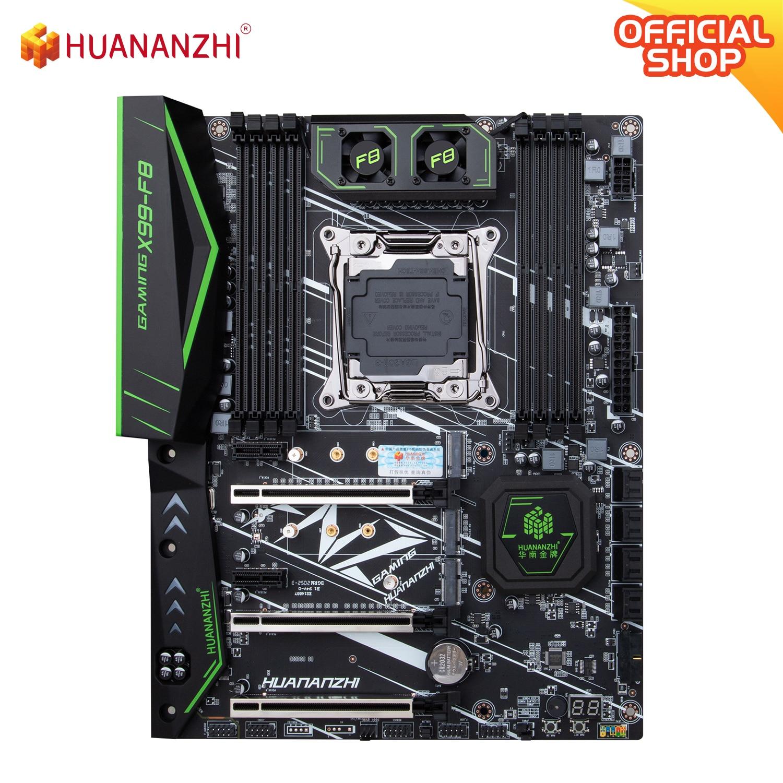 HUANANZHI X99 F8 X99 Motherboard Intel XEON E5 LGA2011-3 All Series DDR4 RECC NON-ECC memory NVME USB3.0 ATX Server workstation