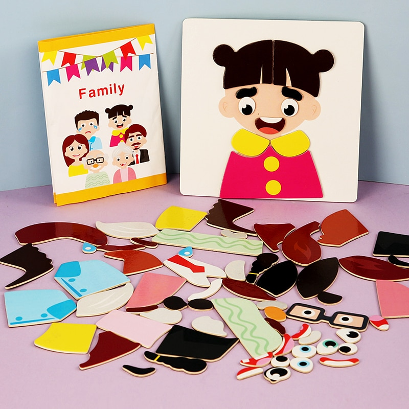 Детские Магнитные Игрушки для раннего развития детей