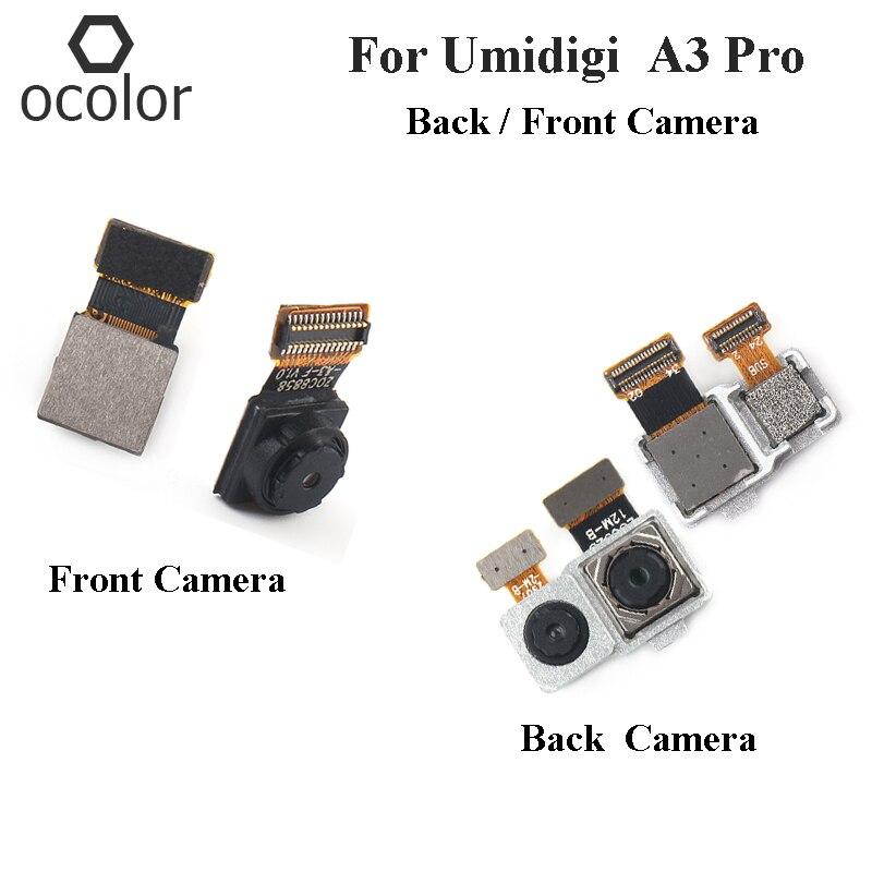 (5 piezas) ocolor para cámara trasera Umidigi A3 Pro piezas de recambio de Cable Flex para cámara frontal Umidigi A3 Pro