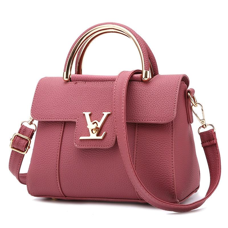2020  Women's Luxury Leather Clutch Bag Ladies Handbags Brand Women Messenger Bags Sac A Main Femme Famous Tote Bag