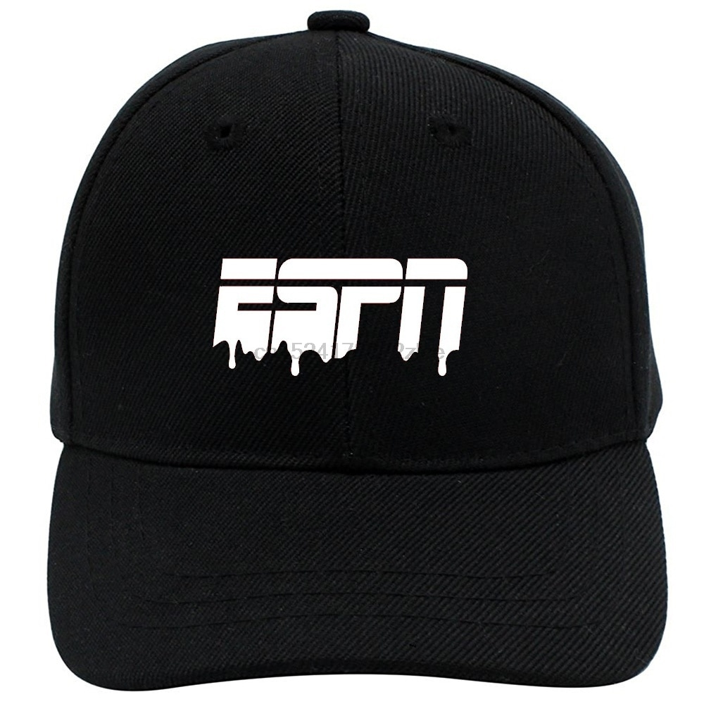 Espn Unisex Einstellbare Kappe Baseball Kappe Sport Kappe Sonne Hut Mesh Hut