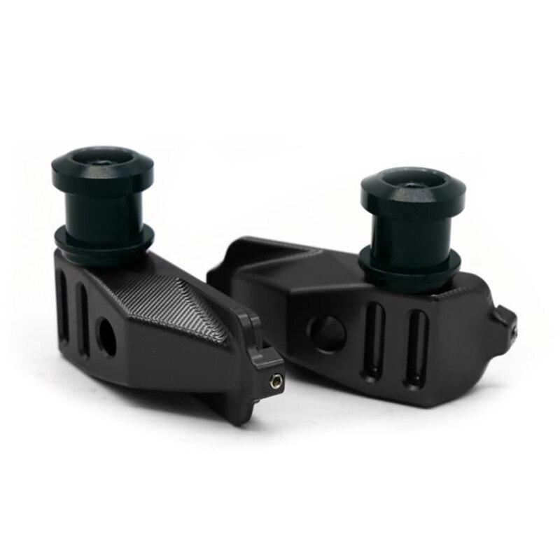 بكرات متأرجحة قابلة للتوسيع مع قاعدة لهوندا CBR500R ، 2013 - 2016 ، CB500F ، CB500X ، CNC ، محور العجلة الخلفية ، شوكة