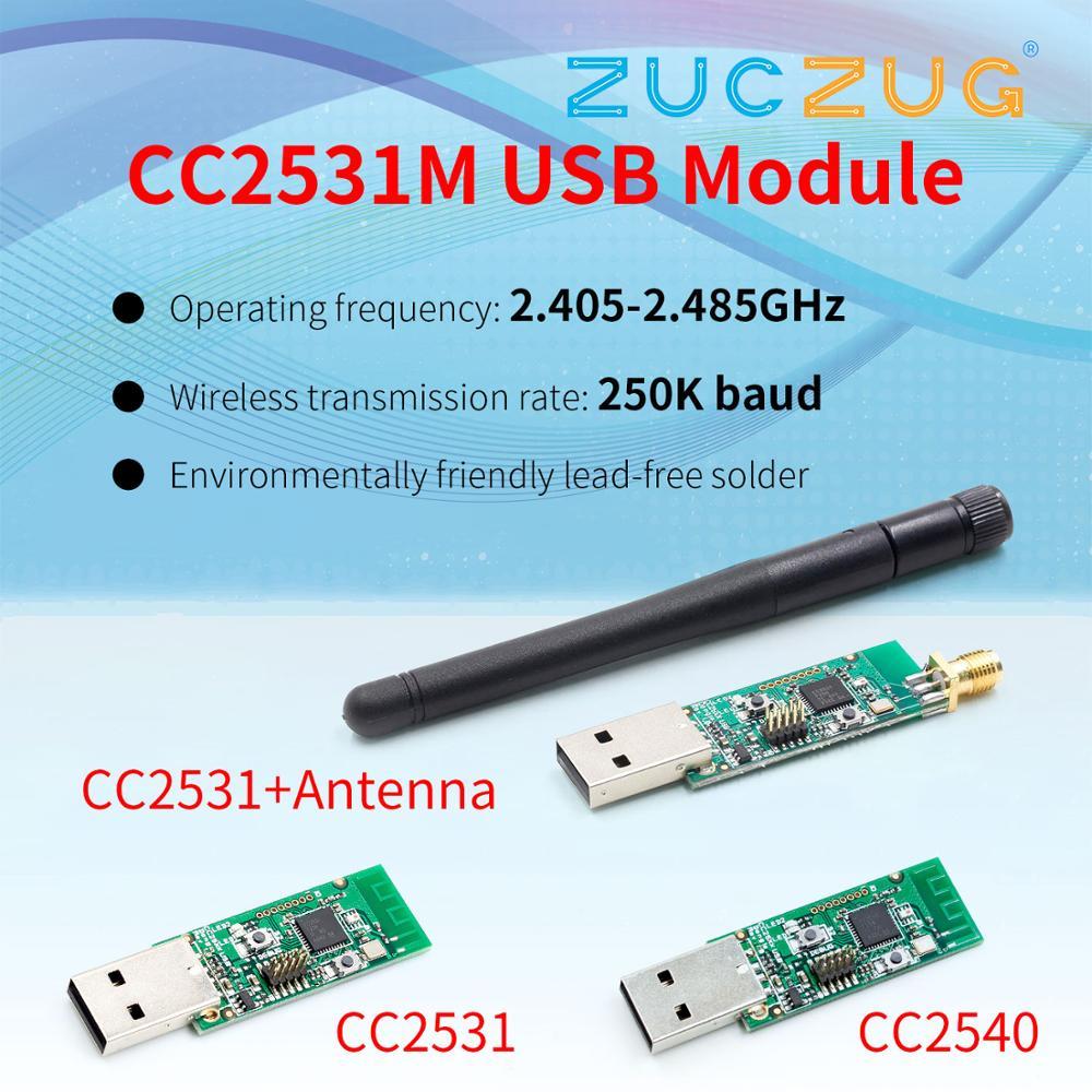 Беспроводной Zigbee CC2531 Sniffer голая плата пакетный протокол анализатор модуль USB интерфейс ключ захват пакет Zigbee модуль