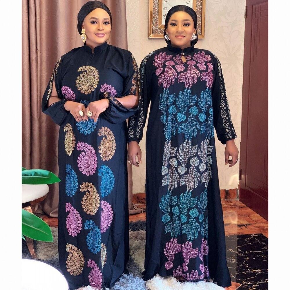 2020 عباية دبي الفاخرة من فئة عالية الماس فستان مسلم مطرز الدانتيل رمضان قفطان الإسلام كيمونو النساء التركية عيد مبارك