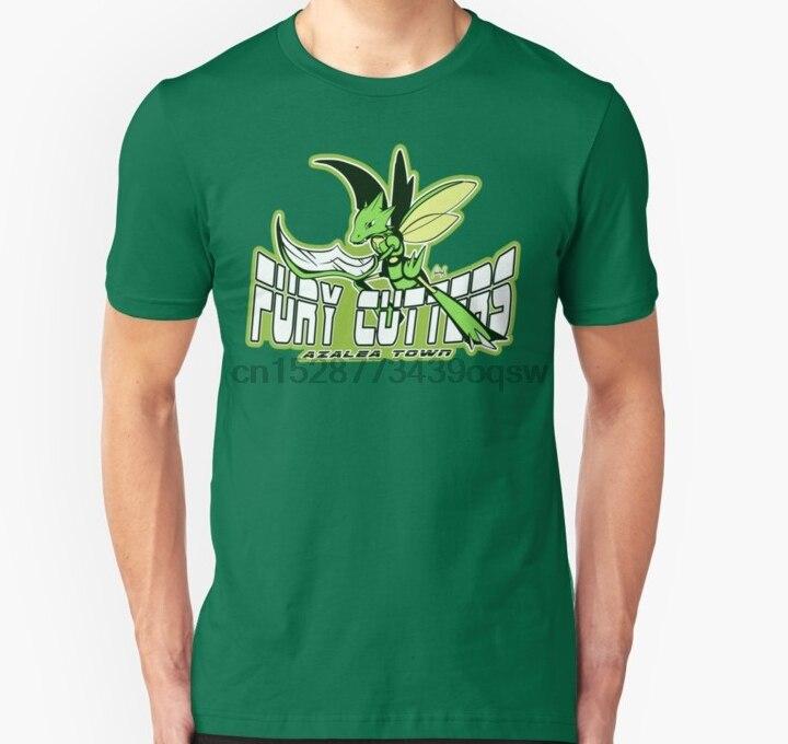 Men tshirt  Azalea Town Fury Cutters Scyther Sport Logo  T Shirt(1) Printed T-Shirt tees top