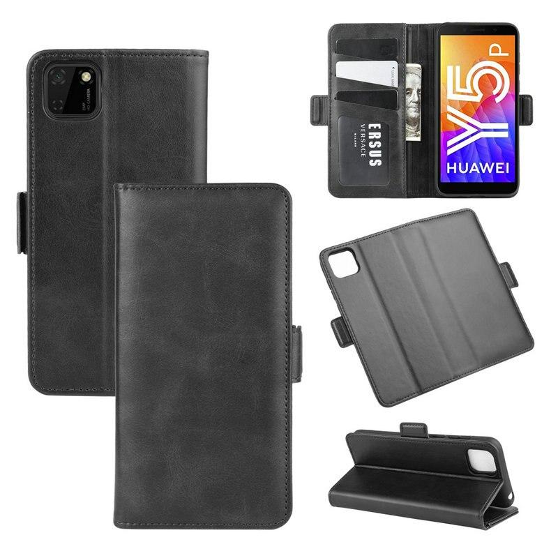 Funda billetera para Huawei Y5p para Honor 9S DUA-LX9 funda doble de cuero con tapa para teléfono Etui