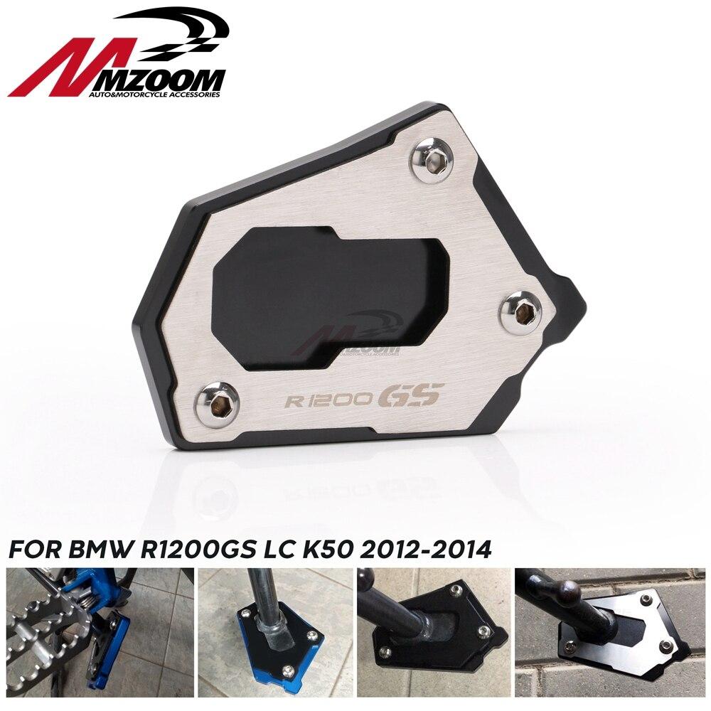 Подставка для ног мотоцикла, новая боковая подставка для BMW R1200GS LC K50 2012-2016 R 1200 GS Adventure LC K51 2013-2016