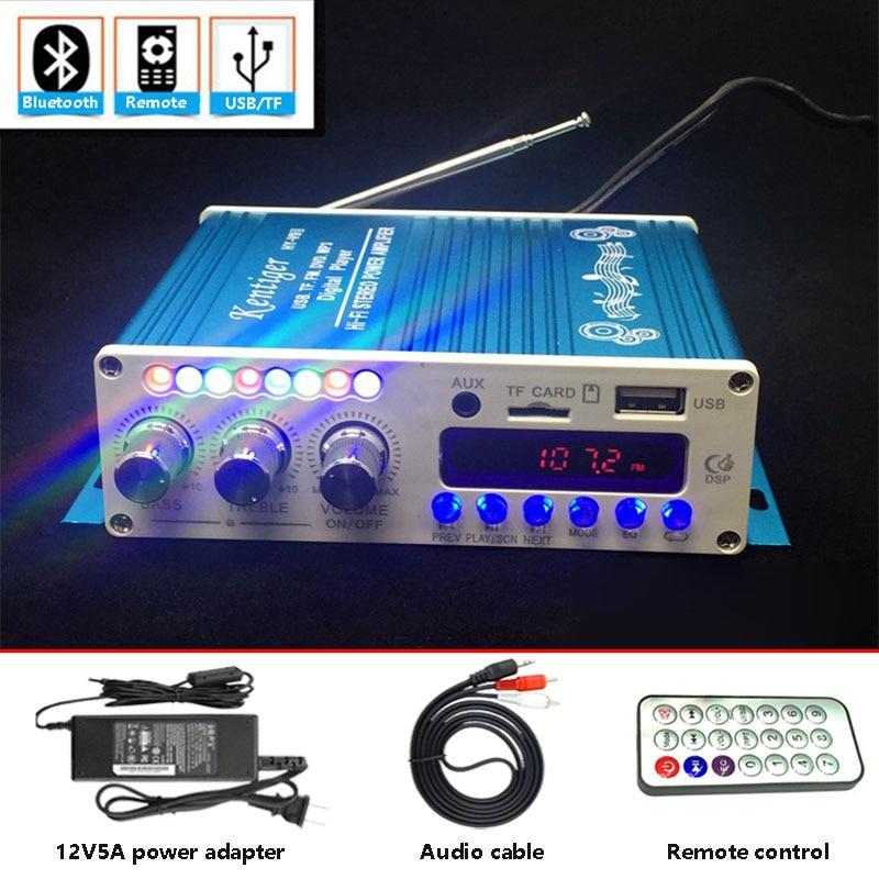 Con 12V 5A adaptador de corriente y Cable AV KENTIGER HY-V10 Control...