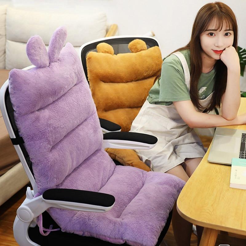 كرسي واحد-قطعة وسادة مكتب المستقرة بعقب حصيرة طالب وسائد المقعد الخلفي الخصر دعم السرير الحصير كرسي مسند الظهر قابل للغسل