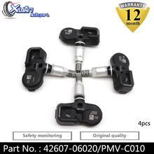 Sensor de presión de neumático XUAN, 4 Uds., TPMS para Lexus GS200t GS350 GS450h LS460 LS600h RC300 RC350 42607-06020 42607-52020