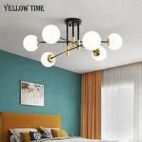 E27 Ampoule Led Moderne LED LUSTRE Lappareil Declairage A La Maison Pour Salon chambre Salle A Manger cuisine Surface Monte Lustre