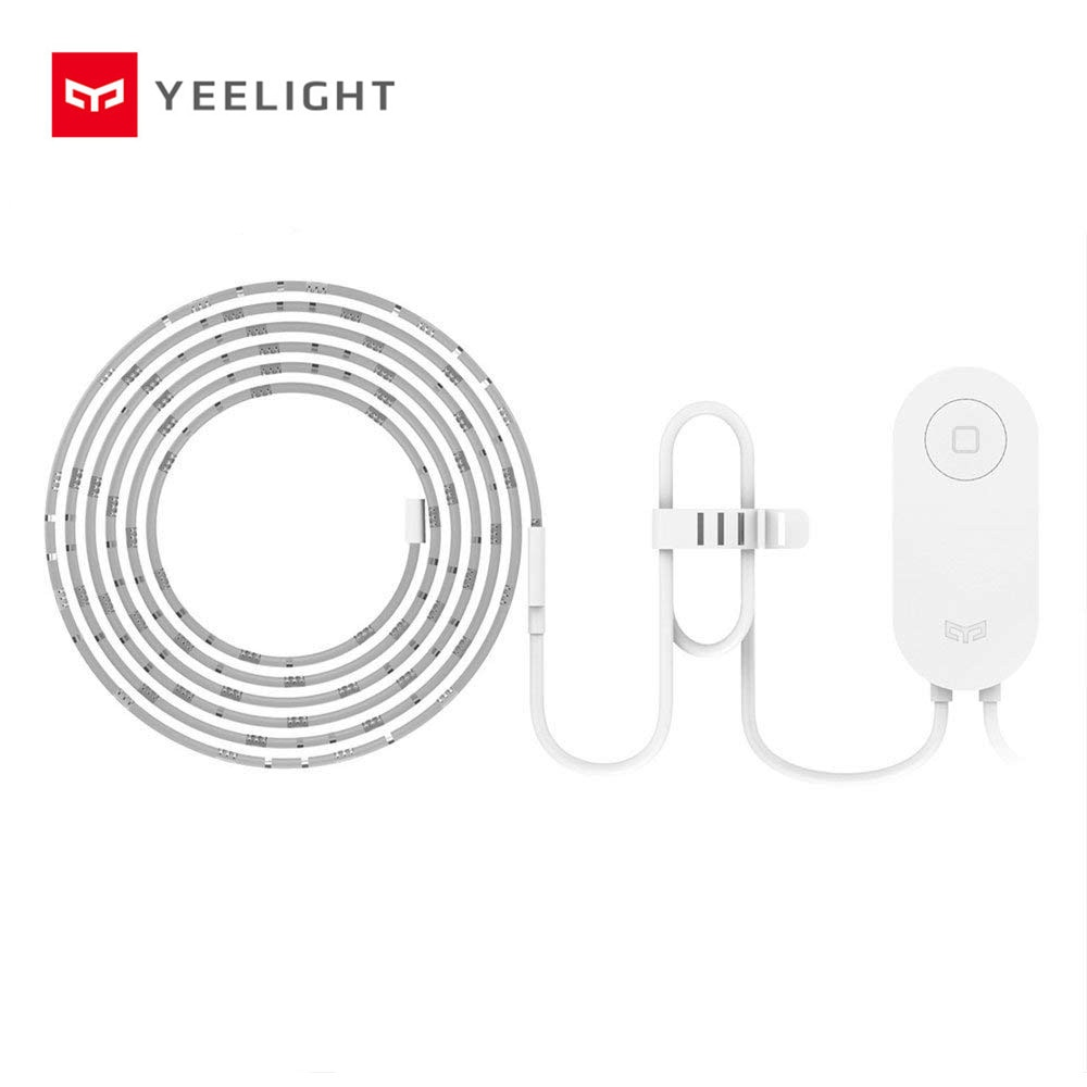 Yeelight RGB LED 2M Smart Light Strip 1S Smart Home for Mi Home APP WiFi Works with Alexa Google Hom