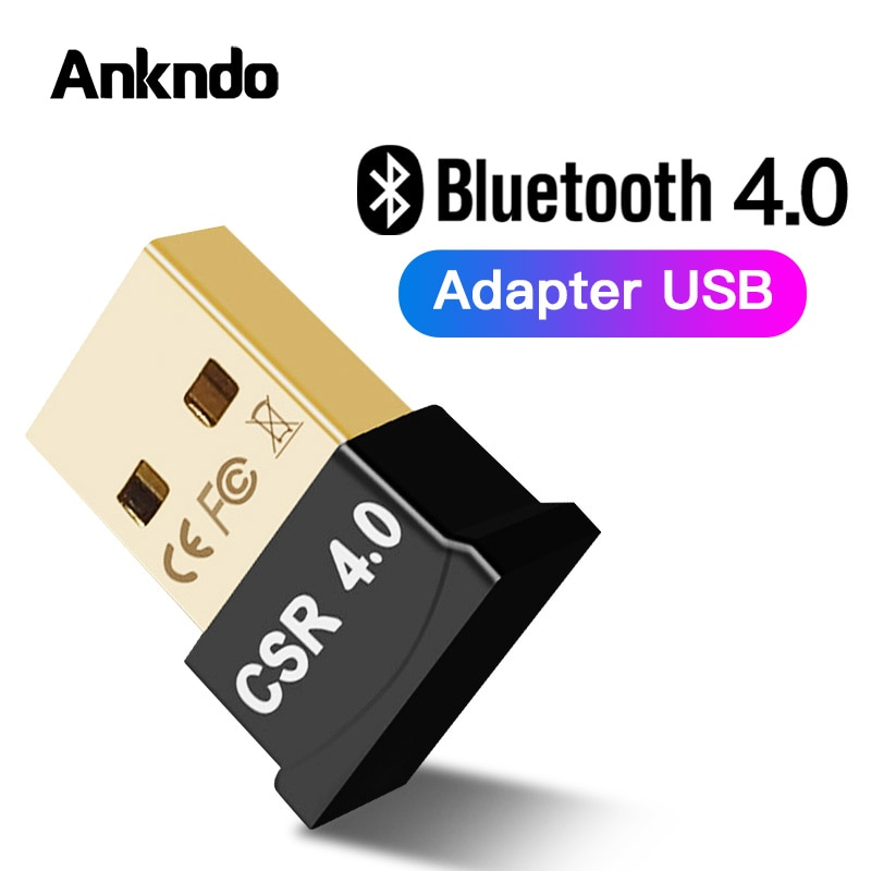 Transmisor Bluetooth auricular Audio CSR 4,0 adaptador Bluetooth inalámbrico emisor Dongle receptor USB para ordenador PC y portátil