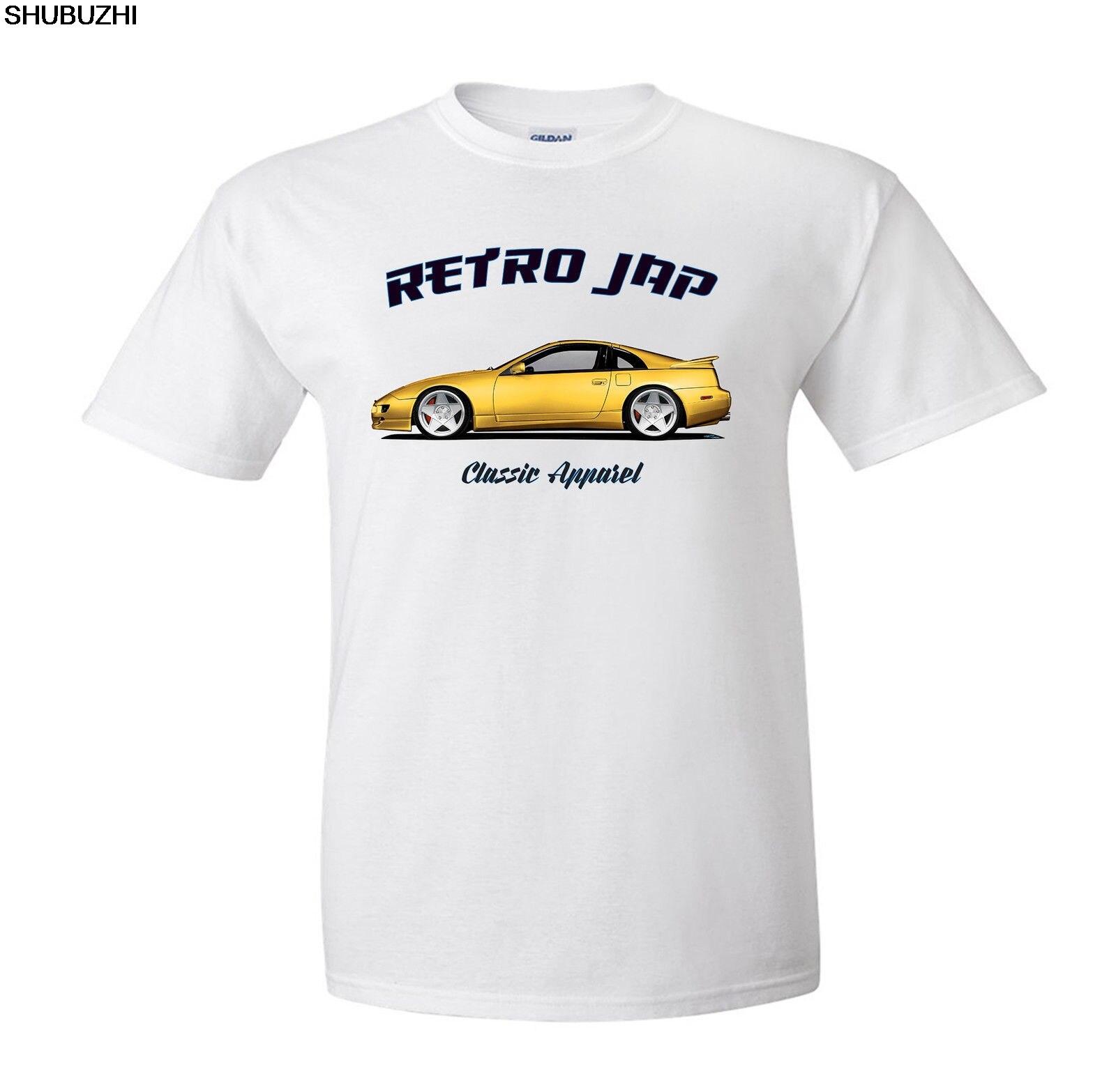 Мужская летняя футболка shubuzhi, японская Классическая футболка для фанатов автомобилей 300Zx Z32. Ретро СПД. Классических автомобилей. Модифицированный. Jdm. Идеи футболок