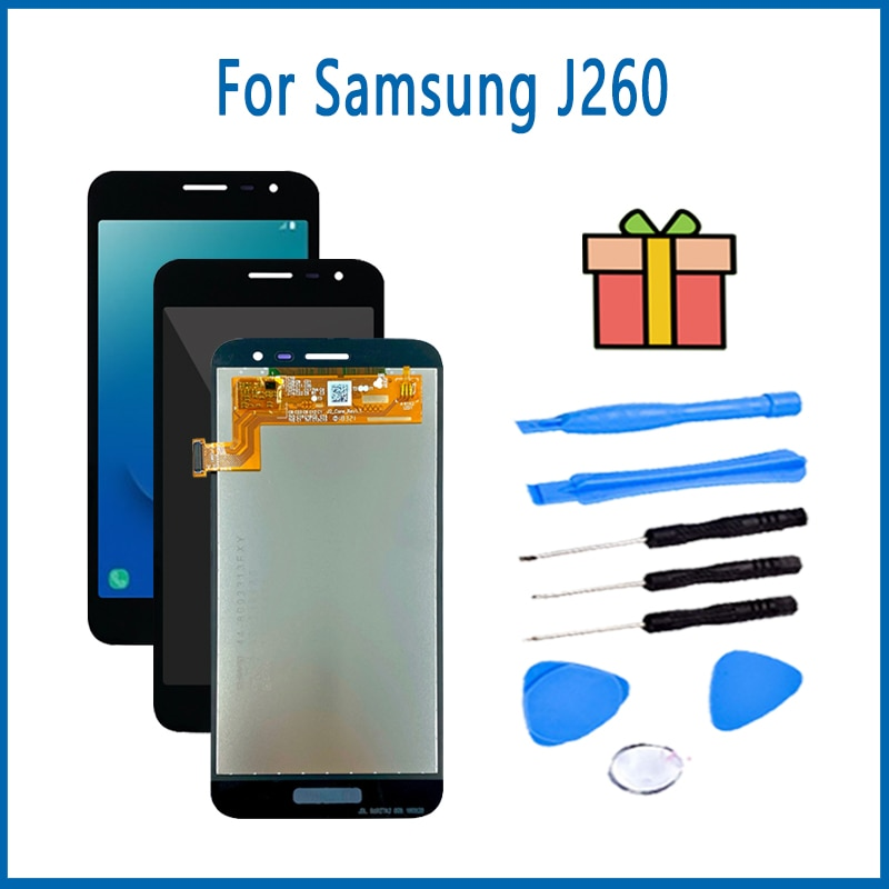 Original New LCD For Samsung Galaxy J260F Metal Backlight Mobile Phone LCD For Samsung J260F LCD Dis