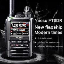YAESU FT3DR talkie-walkie phare numérique portable couleur écran tactile Bluetooth GPS enregistrement talkie-walkie