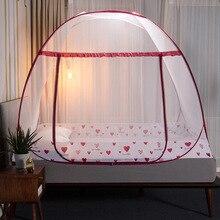 Moustiquaire pliante auvent avec support lit tente pour filles adultes chambre décoration tente lit rideau avec cadre maison chambre décor