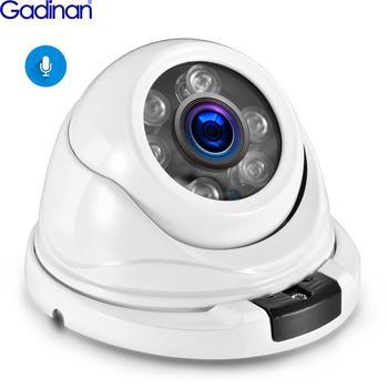 PoE 5MP SONY IMX335 IP Camera H.265 Audio Micphone Dome Surveillance Camera Outdoor Vandalproof  48V PoE CCTV