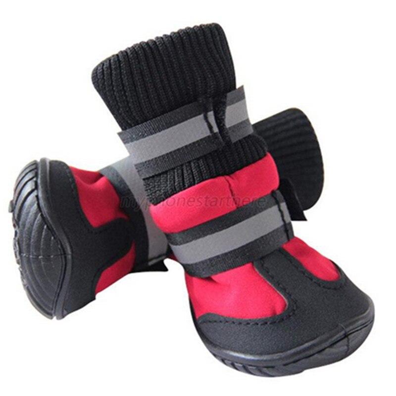 Zapatos para mascota a prueba de agua antideslizante botas de perro medio/grande para labrador, Husky zapatos