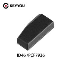 KEYYOU 100pcs Blank Nicht Codiert Auto Schlüssel Transponder Chip ID46 PCF7936 Chip Für Honda Hyundai Kia Mitsubishi Nissan Citroen peugeot
