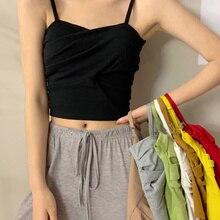 Black Suspender Vest Women's Design Sense, Wear Bottomed Strapless Outside, New Summer Beautiful Bac