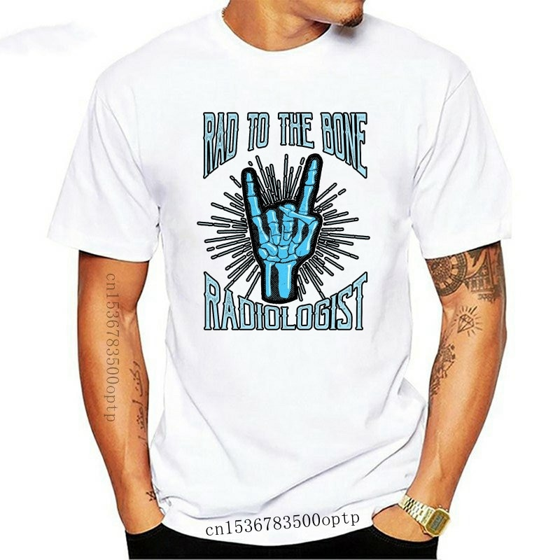 New Radiologist Funny Idea For Radiology Doctors 2021 Summer 2021 Brand T Shirt Men Hip Hop Men T Shirts Casual Fitness Letter T