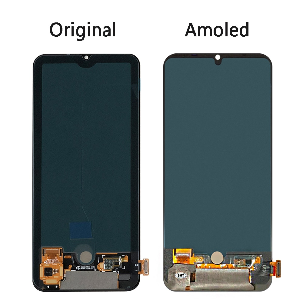 6.57''Mi 10 Lite Lcd For Xiaomi Mi10 Lite Lcd Display Touch Screen Digitizer Assembly For Mi 10Lite Lcd M2002J9G 5G enlarge