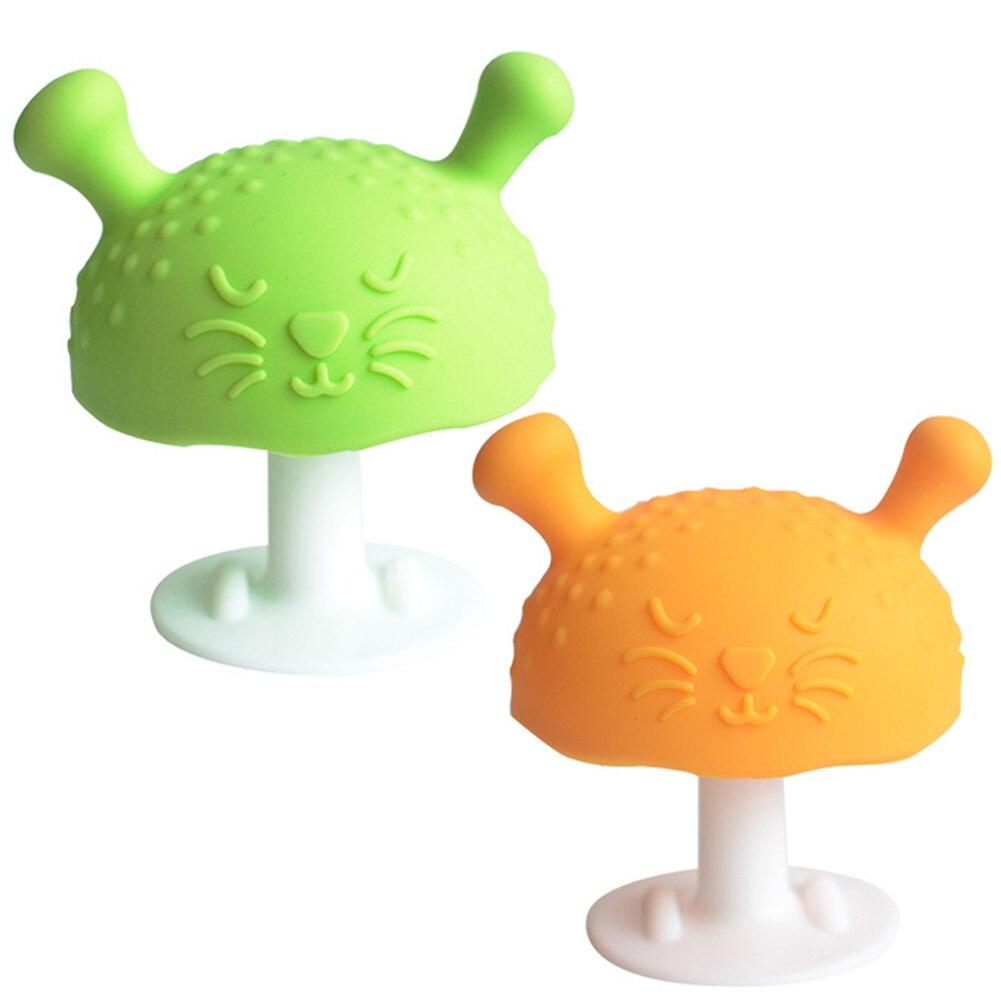 Новорожденные детские зубы игрушки для мальчиков и девочек молярные игрушки силиконовые детские зубы игрушки грибы успокаивающие детские ...