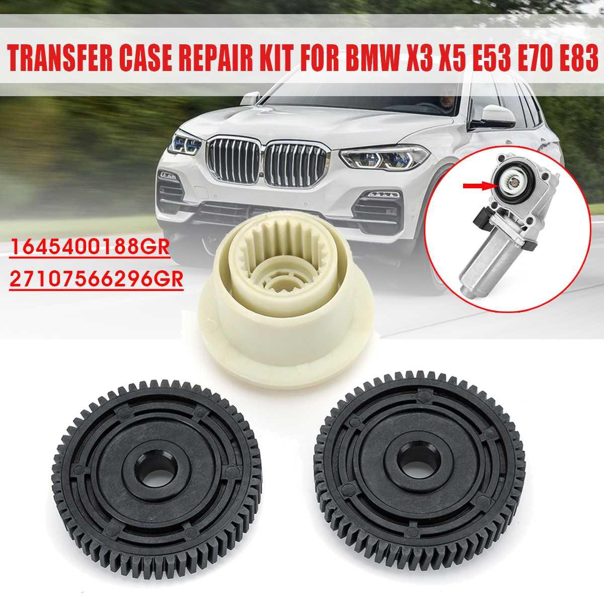 3cs Auto Getriebe Box Transfer Fall Servo Antrieb Motor Reparatur 27107566296 Für BMW X3 X5 X6 E83 E53 E70 E71 2003-2010