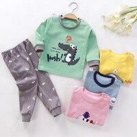 2 шт., детские пижамы унисекс, комплекты детской одежды