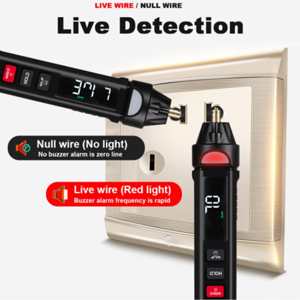 HD 1Hz~10MHz Digital Multimeter Mini Portable Intelligent Multimeter True RMS AC/Direct Current Voltage Measurment