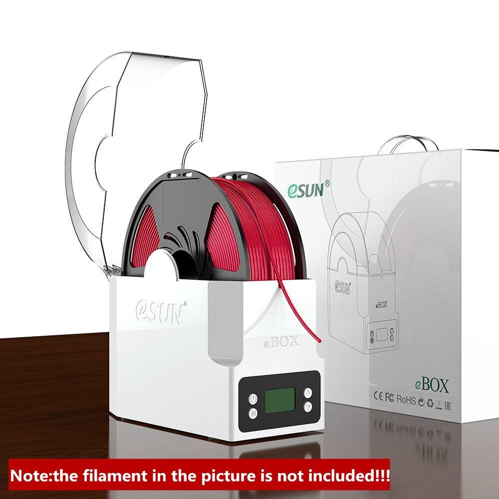Suporte de Armazenamento do Filamento da Caixa do Secador do Filamento da Impressora Mantém o Peso Seco do Filamento da Medida para as Peças da Impressora Esun Ebox Impressora 3d. da 3d