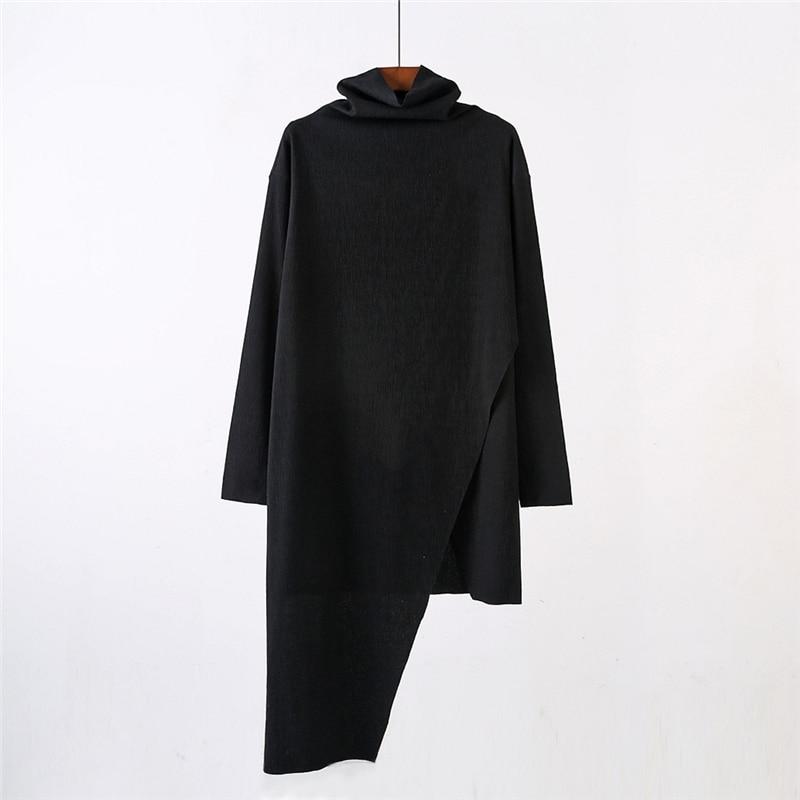 أوين seak الرجال هوديس بلوزات القوطية نمط شارع العليا ملابس للرجال الرجال الربيع الصلبة هوديس أسود بلوزات