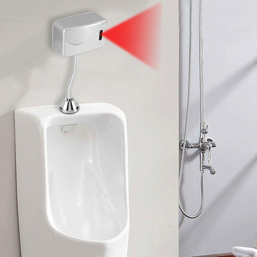 6 فولت الحمام المرحاض يتعرض الحائط الاستشعار التلقائي اللمس مبولة صمام دافق للمرحاض العام فندق مستشفى المطار