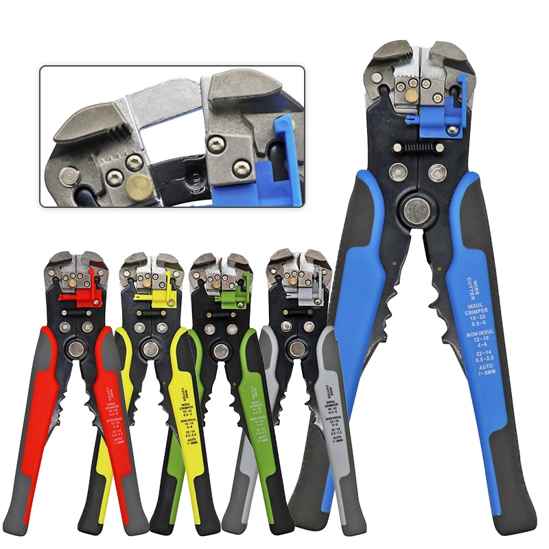 HS-D1/D2 24-10 0.2-6.0MM² wire stripper tools Multifunctional automatic stripping pliers Cable wire Strippers Crimping pliers