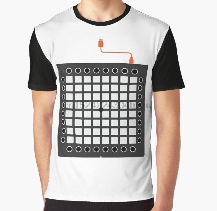 Женская футболка с 3D принтом, Мужская забавная футболка Launchpad Pro-Iconic gear Graphic T-Shirt