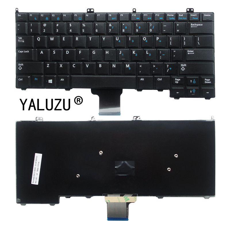 Teclado YALUZU nuevo para DELL Latitude 12 7000 E7440 E7420 E7240 E7420D